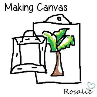 Easy Homemade Canvas
