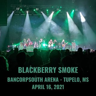 Blackberry Smoke Live at BancorpSouth Arena on 2021-04-16