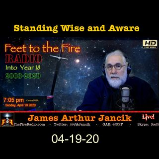 F2F Radio - 200418 -  Standing Wise and Aware