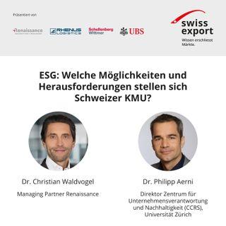 ESG: Welche Möglichkeiten und Herausforderungen stellen sich Schweizer KMU?