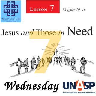 Sabbath School Aug-14 Wednesday