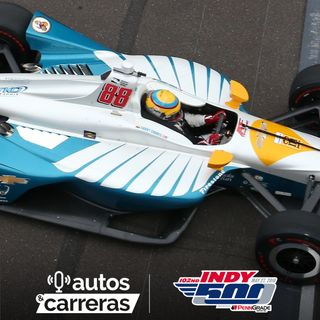 102nd Indy 500 #5 - Practica 8, el final