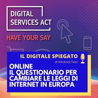 12. Online il questionario per cambiare le leggi di internet in Europa