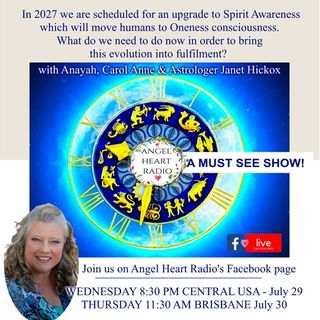 We Will Upgrade to Spirit Awareness in 2027 -  Astrologer Janet Hickox Explains