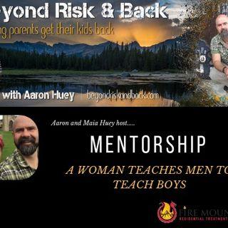 Mentorship- A Woman Teaches Men to Teach Boys