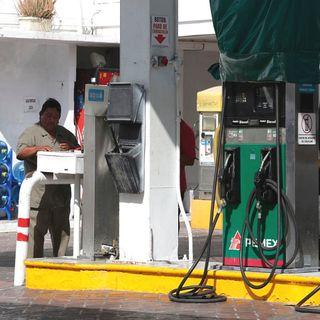 La gasolina en máximos