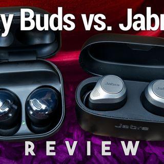 Hands-On Tech: Galaxy Buds Pro vs. Jabra Elite 85t Review