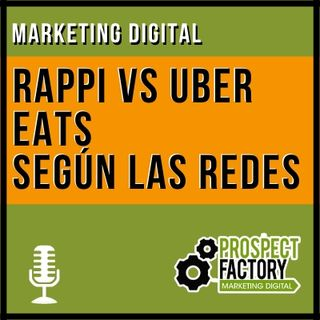 Social Listening Rappi vs Uber Eats | Prospect Factory