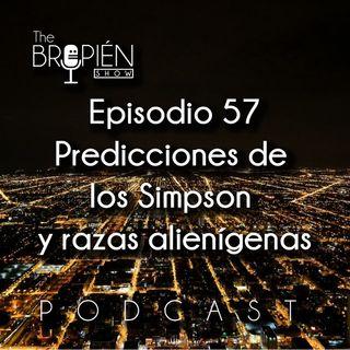 057 - Bropien - Predicciones de los Simpson y razas alienígenas
