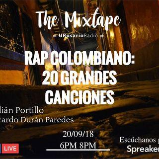 20 grandes canciones del Rap colombiano