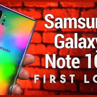 Galaxy Note 10+ Unboxing & First Look