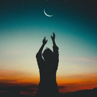 Meditar con el eclipse de Luna