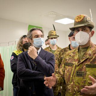 Episodio 91 - Esercito e Protezione Civile al fianco della Lombardia per i vaccini - 1 apr 2021