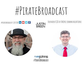 Catch Justin Breen on the #PirateBroadcast