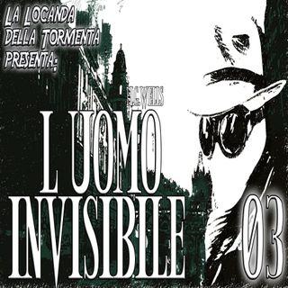 Audiolibro L'Uomo Invisibile - Capitolo 03 - H.G. Wells