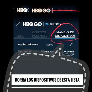 Corregir un fallo de la app HBOGO