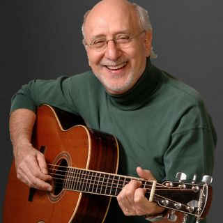 LEGENDARY FOLK SINGER PETER YARROW OF PETER, PAUL AND MARY