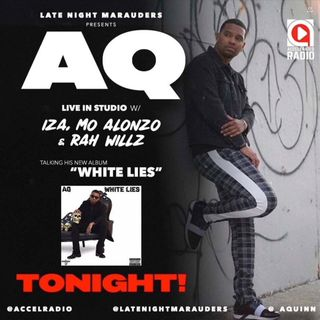 "The Late Night Marauders with @aquinn_ ""White Lies"""