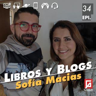 Libros y blogs con Sofía Macías.