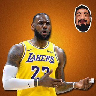 TRETA DE LEBRON JAMES x IBRAHIMOVIC, UTAH O MELHOR TIME DA NBA - Na Tábua Podcast