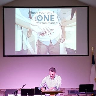 Who's Your One? begins in 1 Corinthians 12