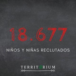 18.677 niños y niñas reclutados