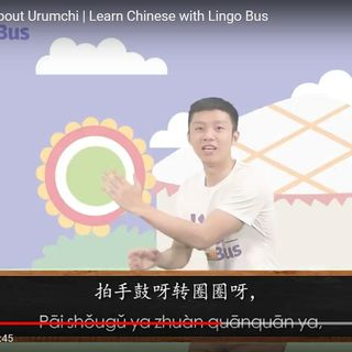 How to sing a song about Urumchi | Learn Chinese with Lingo Bus