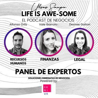Panel de Expertos E03 Finanzas, R.H. y Legal