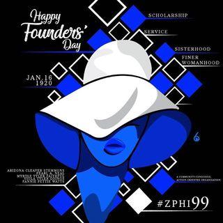 Happy Founders Day Zeta Phi Beta Sorority Incorporated
