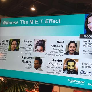 Live From The NABSHOW 2017 : Witness The MET Effect