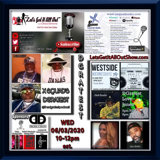 06-03-2020 Our Special Guest Today Is X Squad Radio Network's Very Own DGratest!