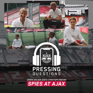 Edwin van der Sar and Christoph Freund – Spies at Ajax