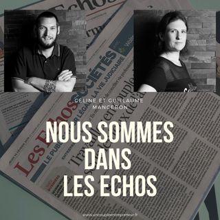 56 - On est dans le journal les Echos