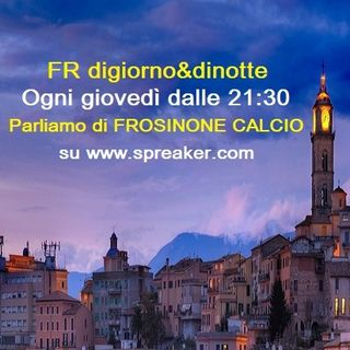 29a Puntata Frosinone-Roma FR-Genoa - Ospite Simone Meloni
