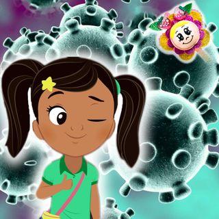 23. Antonio, Anabel y el Coronavirus. Programa especial para explicar a los niños qué es el virus. Cuento infantil Hada de Fresa