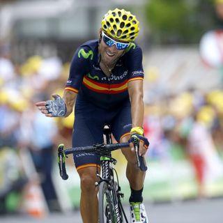 Alejandro Valverde tras Glandon y Montvernier