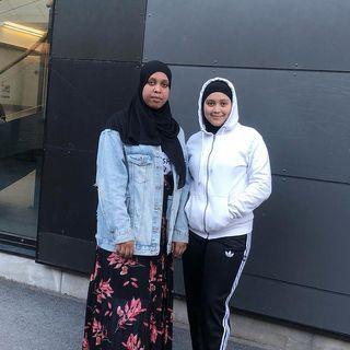 Mariam och Filsan från ÖMBK