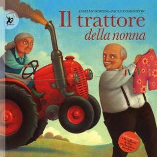 Audiolibri per bambini - Il trattore della nonna www.radiogiochiecolori.it