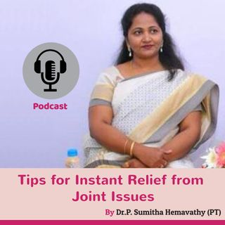 Tips for Instant Relief from Joint Issues | Physiotherapy Centres Near Me Hulimavu