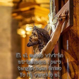 EVANGELIO DE HOY 17 de Mayo 2021 tengan paz en mí!