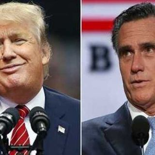 Mitt Romney vs. Donald Trump