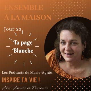 Jour 23: Ta page Blanche !