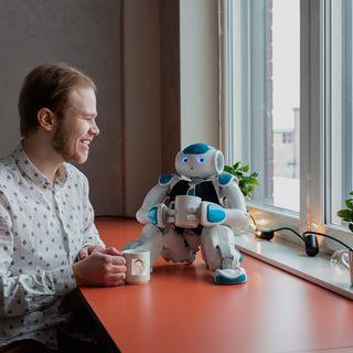 Teknikveckan special: Så kommer robotarna ge oss en meningsfull fritid - med Fredrik Svedberg & Fredrik Löfgren