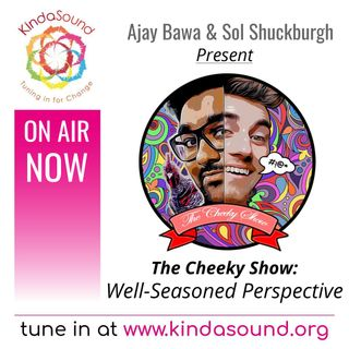 Well-Seasoned Perspective | The Cheeky Show with Ajay Bawa & Sol Shuckburgh