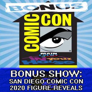 BONUS: San Diego Comic Con 2020 Figure Reveals
