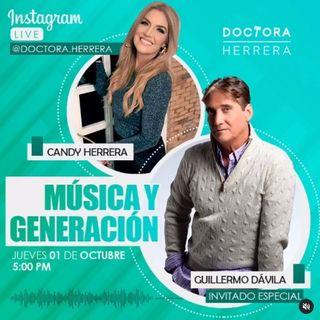 Música y Generación con Guillermo Dávila en Cuéntale tu caso a la Doctora Herrera
