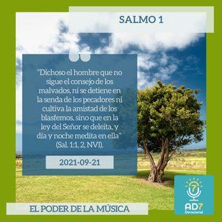 21 de septiembre - Salmo 1 - Devocional de Jóvenes - Etiquetas Para Reflexionar