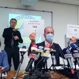 Variante Delta al 97,2% in Veneto. A Santorso i ricoveri salgono a quota dieci