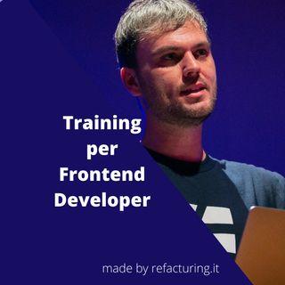 Fabio Biondi - Training per Frontend Developer