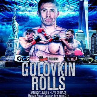Preview Of The Gennady Golovkin - Steve Rolls Card Live On DaznUSA